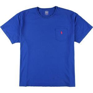 ラルフローレン Ralph Lauren POLO RALPH LAUREN 半袖 ワンポイントロゴポケットTシャツ メンズXL /eaa161572