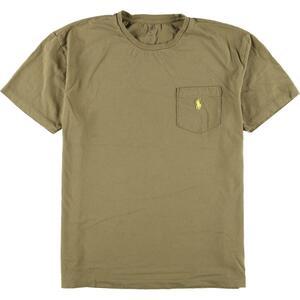 ラルフローレン Ralph Lauren POLO RALPH LAUREN 半袖 ワンポイントロゴポケットTシャツ メンズM /eaa164852