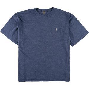 ラルフローレン Ralph Lauren POLO RALPH LAUREN 半袖 ワンポイントロゴポケットTシャツ メンズ4XL /eaa164848