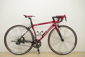 美品 コルナゴ PRIMA カンパニョーロ XENONコンポ TT500mm ST470mm アルミフレーム 中古 COLNAGO プリマ カンパ ロードバイク 赤 レッド