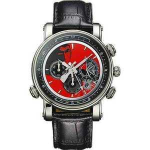 レア 世界限定1968個 腕時計 50周年記念 ゴルゴ13 高級 クロノグラフ ウォッチ メンズ レディース 限定品 希少 レア 牛革 さいとう たかを
