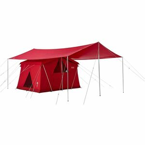 新品未開封 コールマン(Coleman) テント 120thアニバーサリー テント&タープセット レッド 送料無料 迅速発送
