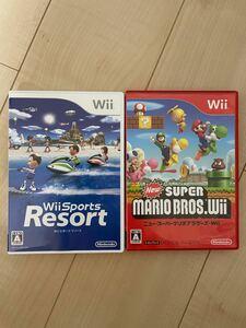 Wiiスポーツリゾート ニュースーパーマリオブラザーズ