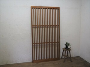 taU995*[H177cm×W91cm]* retro taste ... old wooden .. door * fittings sliding door sash old Japanese-style house reproduction peace . reform store furniture L under