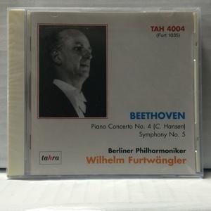 未開封 CD フルトヴェングラー ベートーヴェン ピアノ協奏曲第4番 交響曲第5番 運命 ICR