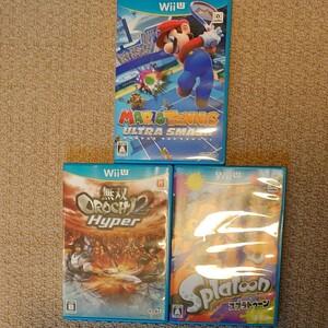 Wiiu 無双OROCHI2 Hyper & スプラトゥーン & マリオテニス ウルトラスマッシュ