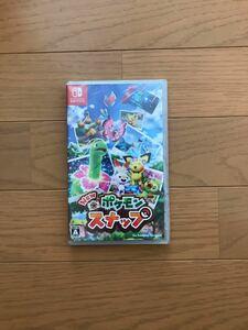 未開封 ポケモンスナップ ソフト Nintendo Switch ニンテンドー スイッチ 任天堂