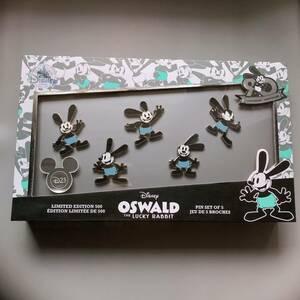 オズワルド 生誕90周年 ピンバッジセット【LE 500】D23expo 2017 海外 Disneypins OSWALD ディズニーピンズ 限定