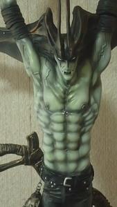 全高58cm デビルマン 韮澤靖 完成品 AMON FEWTURE MODEL フューチャーモデルズ 悪魔人間 神 ゴッド デーモン