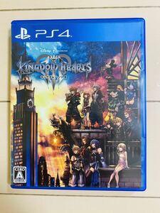 キングダムハーツⅢ キングダムハーツ3 PS4 KINGDOM HEARTS PS4ソフト プレイステーション4 ソフト 美品