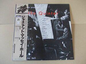 P6126 即決 LPレコード チャーリー・パーカー他『ジャズ・アット・マッセイ・ホール』 国内盤 帯付