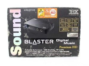 CREATIVE/クリエイティブメディア サウンドブラスター デジタルミュージックプレミアムHD SB-DM-PHD 変換式 外付け オーディオ 中古