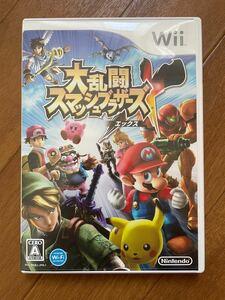 Wiiゲームソフト 「大乱闘スマッシュブラザーズエックス」