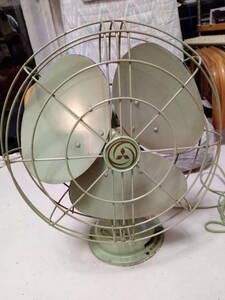 風量・首振り動作品 扇風機 三菱 エレクトリックファン 3枚羽 昭和レトロ インテリア アンティーク