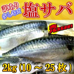 BBQ 業務用 ◆訳あり◆国産塩サバ山盛り約2kg入