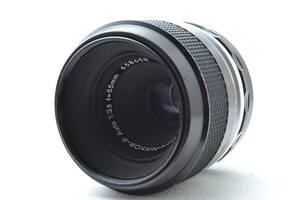 美品 ニコン Nikon Micro Nikkor P Auto 55mm f/3.5 非Ai マニュアルフォーカス マクロレンズ #040D