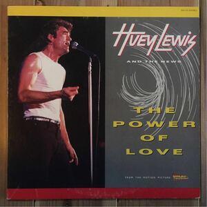 日本盤 バックトゥザフューチャー 挿入歌 ライナー付 Huey Lewis And The News / The Power Of Love Back To The Future Michael J. Fox