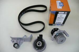 A4 8EALT タイミングベルト対策変換キット&ウォーターポンプ 純正OEM納入メーカー INA SIL HELLA 税込