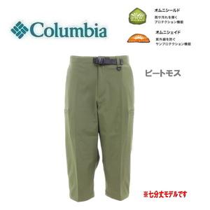 Columbia コロンビア ウッドブリッジニーパンツ ピートモス L XM1534 メンズ 七分丈 ストレッチ 速乾 撥水 アウトドア