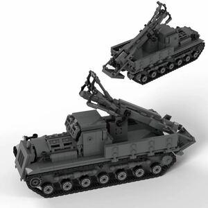 レゴ互換 試製四式重迫撃砲(ハト) 日本軍