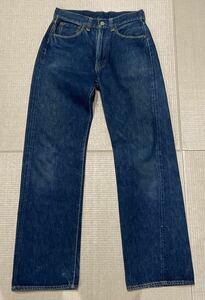 《色残りあり!革パッチ》LEVIS 501ZXX オリジナルビンテージ 50sレザーパッチ ヴィンテージ501xxリーバイスオール綿糸BIGE USA製 ビッグE