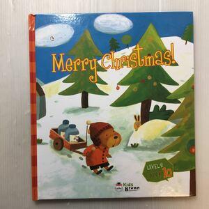 zaa-172♪『Merry Christmas!』Kids Brown 英語学習しかけ絵本 Level-2 Book10  2011年/本のみ。