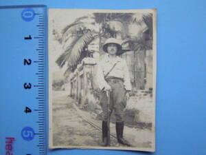 (J35)18 写真 古写真 戦前 帝国軍人 記念写真 日本軍占領地 大日本帝国陸軍 日本陸軍