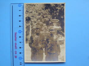 (J35)20 写真 古写真 戦前 帝国軍人 記念写真 日本軍占領地 大日本帝国陸軍 日本陸軍
