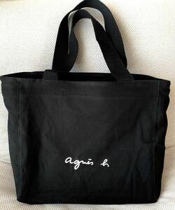 agnes b. トートバッグ Lサイズ ブラック 新品未使用品
