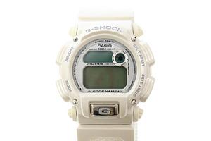 ジーショック G-SHOCK CODENAME ALASKA DOG MUSHERS ASSOCIATION A.D.M.A コードネーム アラスカ 犬ぞり 協会 腕時計 DW-8800AJ-7BT 白▲■