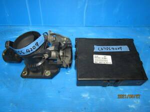タントカスタム L375S 黒 X06 スロットルボディーとECU