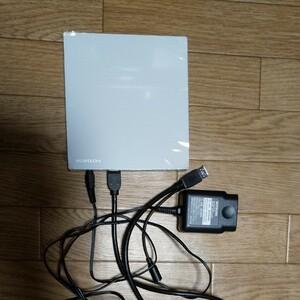 Blu-ray書き込み対応ドライブ 別売ACアダプター とセット I-O DATA