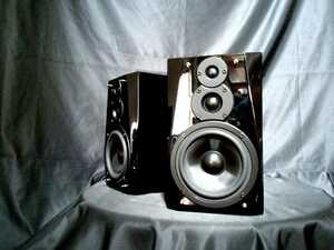 DENON SC-F101 デノン高音質3wayスピーカー◇除菌クリーニング品◆最高級艶出しWAX処理◆音出し良好