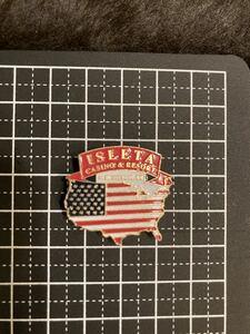 USAビンテージPINSピンバッジISLETAカジノ/アメカジ西海岸ロックサーフカリフォルニアメリカントリー世田谷ベースバイカー米軍ミリタリー