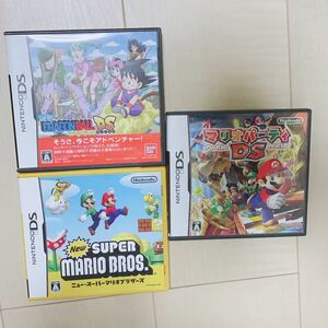 DSソフト マリオパーティ ドラゴンボール スーパーマリオブラザーズ