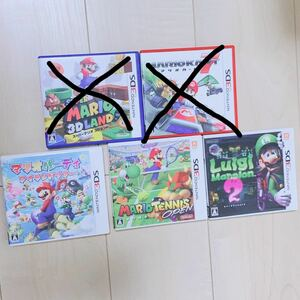ニンテンドー3DSソフト 3DS マリオテニス マリオパーティ