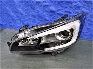 2390 レヴォーグ VM4 VMG 前期 左ライト LED 1877 美品 WRX S4 VAG WRX STI VAB