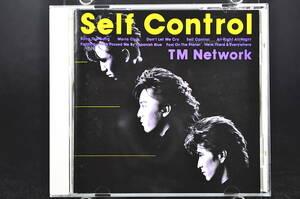 旧規格盤☆ TM NETWORK Self Control / TMネットワーク セルフコントロール ■87年盤 全10曲 CD 4th アルバム 32・8H-106 小室哲哉 美盤!!