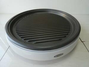 ★タイガー ホットプレート 焼肉 たこ焼き  CPJ-F130 3枚 波形 たこ焼き 平面  通電確認済 z01176