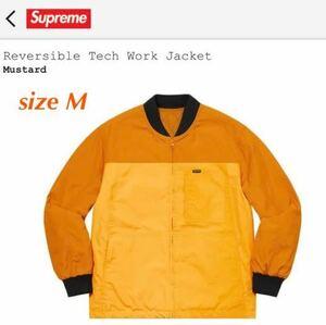 【M size】Supreme Reversible Tech Work Jacket シュプリーム ワークジャケット