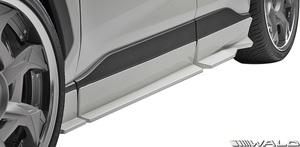 【M's】TOYOTA RAV4 G/X 前期 ( R2.6- ) WALD SPORTS LINE サイドステップ LR // ABS 未塗装 ヴァルド バルド エアロ パーツ シンプル