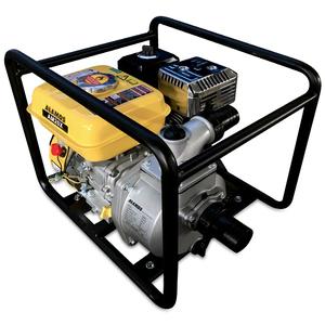 ポンプ 4サイクルエンジン 給水・排水ポンプ OHV エンジンポンプ 5.5HP 5.5馬力 リコイル式 ウォーターポンプ ガソリン給水・排水ポンプ