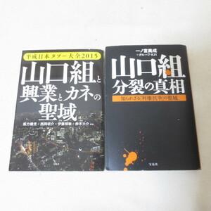 山口組と興業とカネの聖域 / 山口組分裂の真相 ヤクザ 本 2冊セット