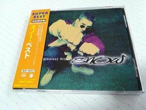 Snow スノー ベスト 「The Greatest Hits Of Snow」 日本盤 CD 98年盤 帯あり 日本語解説書あり  1-0459
