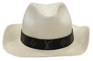 ルイヴィトン 帽子 パナマハット パナマ帽 モノグラム M75880 L モノグラムエクリプス メンズ ストロー LV ストローハット LOUIS VUITTON