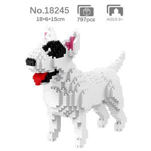 ★★★ ブルテリア 797PCS ブロック 未開封新品/ブリー レゴ LEGO ナノブロック フィギュア インテリア