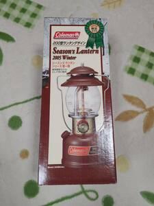 【限定】Coleman Season's Lantern 2005 Winter コールマンシーズンランタン2005ウインター【ノーマルグローブと圧力計付】