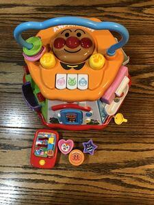 アンパンマンおもちゃ よくばりボックス 知育玩具