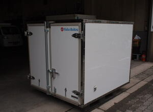container Hijet jumbo reefer keep cool FRP made S500P S510P. peace 3 year made pickup limitation