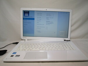 東芝 dynabook BX/57NW PTX57WP-SHA Celeron 2957U 1.4GHz 4GB 1TB 15.6インチ DVDマルチ ジャンク [79044]